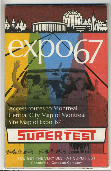 Montreal Expo 1967 (via The CANADIAN DESIGN RESOURCE » Expo 67)