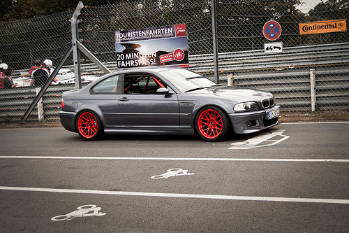 Red Accented M3 (by Wouter Dieryck)