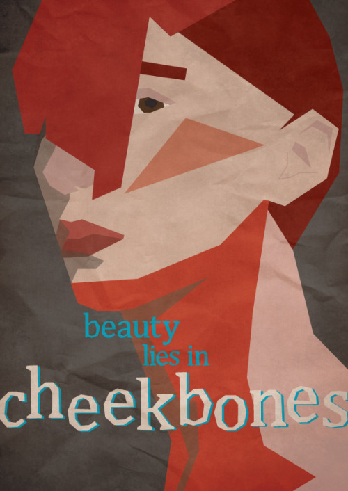 Beauty Lies In Cheekbones