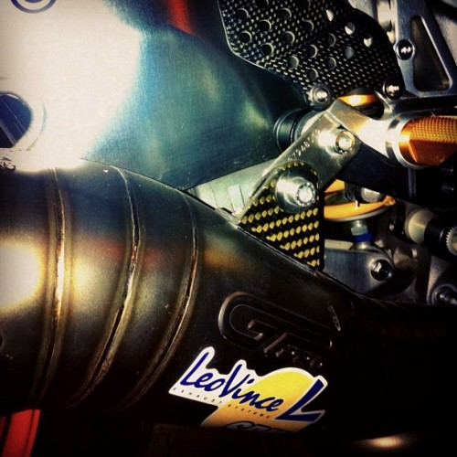 Leovince #cbr1000  (Taken with instagram)