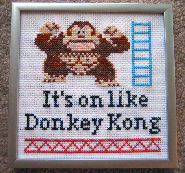laughingsquid:  It's on like Donkey Kong