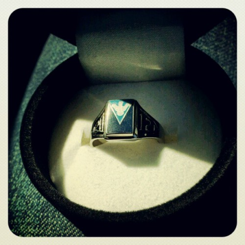 Grad Ring (Taken with instagram)