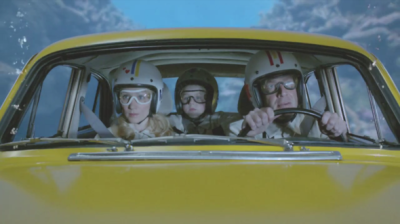 "-ADWEEK Wes Anderson Brings His Trademark Visual Style To Zany Spots for the 2012 Hyundai Azera ""… In ""Talk to My Car,"" the nostalgia-happy Anderson hypes the 2012 Azera's ""bluelink"" technology via a pastiche of pop culture's most famous voice-responsive vehicles (there's a Chitty Chitty Bang Bang-esque flying contraption, an underwater car straight out of The Spy Who Loved Me, and a take on Knight Rider's KITT) plus a heavy bit of personal touch (there's enough corny visual effects and obsessive symmetry to make your head explode). Bluelink doesn't actually allow your car to shoot through space, but it does let you make a dinner reservation by simply asking."" CONTINUED"