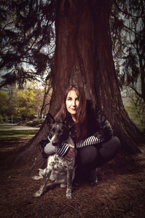 Cheryl Waters, Dark Queen of The Midday Show at KEXP, and Ruby! Find out more about KEXP's official Goths In Trees Day on the KEXP Blog, and be sure to share your photos with us on Tumblr, tagged #GothsInTrees! photo credit: William Anthony