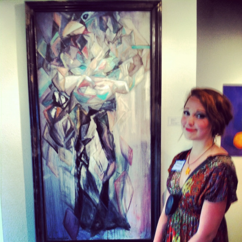 First art show. Honorable mention. TAACCL 2012. HOUSTON TEXAS - ART.