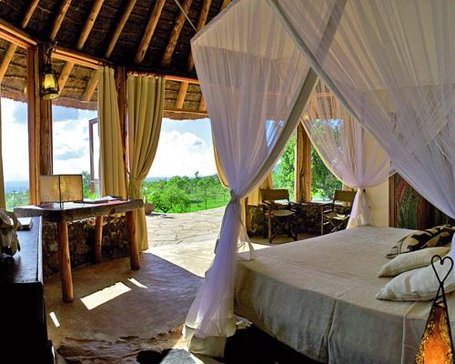 Take an African vacation at Campi Ya Kanzi.This private Kenyan reserve is located a mere 20 miles from Mount Kiliminjaro, and every aspect of the camp was designed to be environmentally friendly. It was built using local materials — and not a single tree was cut. Water comes from rain collection and gray water is recycled, water is heated by solar panels, and food is cooked using an eco-friendly charcoal made from coffee husks. But most importantly, Campi Ya Kanzi works in partnership with the Maasai community and donates a portion of its proceeds to local preservation programs.10 luxury eco-resorts