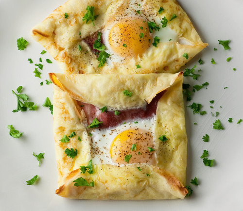 delectableeats:  Egg and Bacon Square