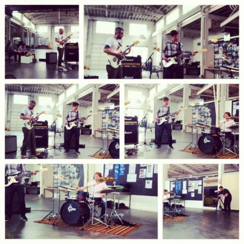 Math rock. Teepeeless Session #7: Lord (@waytoocrowded) (Taken with Instagram at Instrument Outpost)