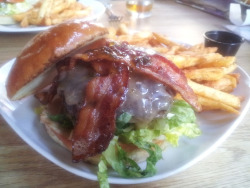 The Publik House Burger at Publik Draft House