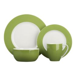 (via Hamptons Green Dinnerware in Dinnerware Sets | Crate and Barrel)