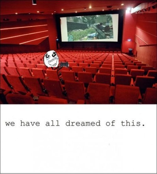 We have all dreamed of this