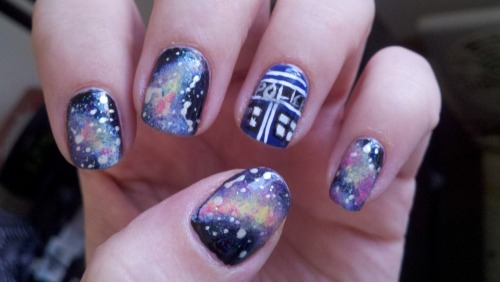 Dr. Who nails!! -A.
