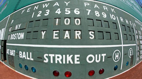 Fenway turns 100 The 10 greatest moments in Fenway Park history