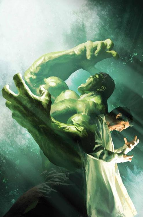 bh78:  INCREDIBLE HULK #7.1 Cover by MICHAEL KOMARCK