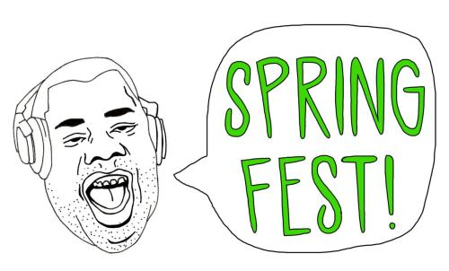 $10 for Spingfest tshirts/tees Sold at the event!