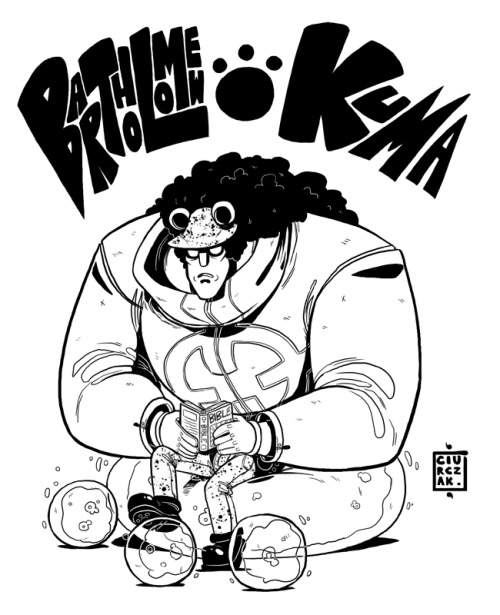 soulkarl:  #9: KUMA I'm gonna start doing these pirates again as warmups for comics.  Yup  WOW I ALREADY TOLD YOU HOW MUCH I LIKE THIS BUT WOW I REALLY LIKE THIS