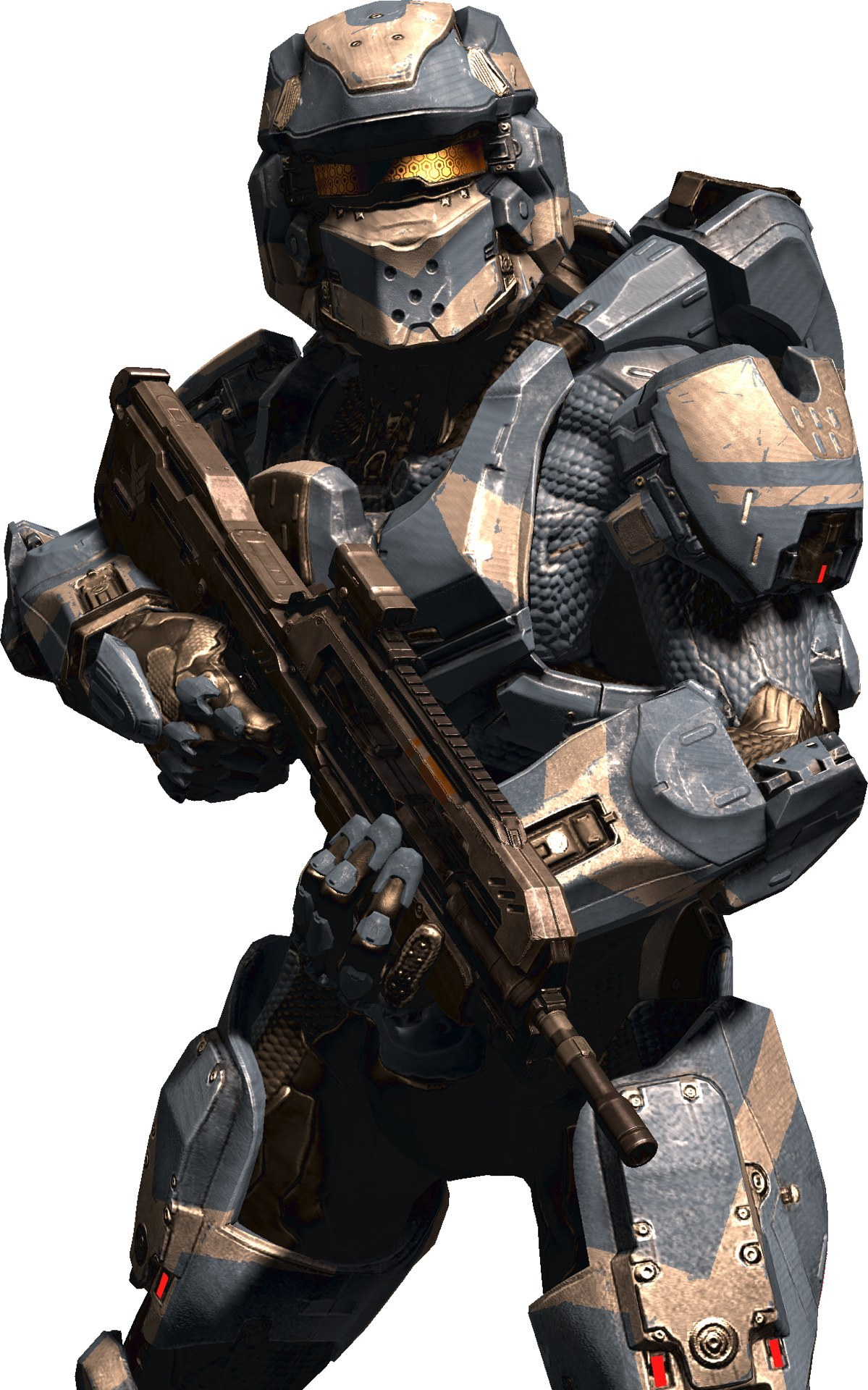 gamefreaksnz:  Halo 4: new character renders and concept art  Microsoft and 343 Industries have released some new images of Halo 4.  Sooo I really don't like the look of the Spartan IV's… grunts and elites seem to have no taken on a more of a GoW appearance so that grunts now look like Wretches now xD I'm liking the forerunner patterns on Cortana though O.O