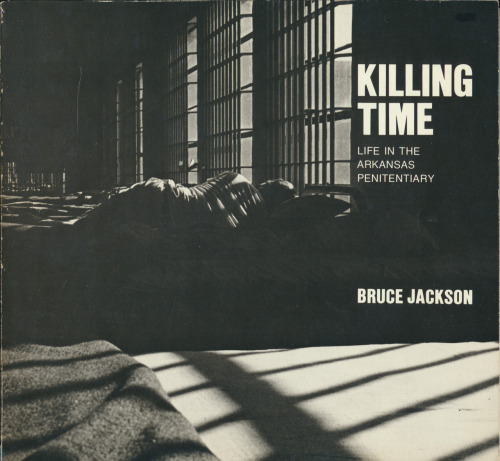 Killing Time: Life in the Arkansas Penitentiary by Bruce Jackson, Cornell University Press, Ithaca, New York, 1977. I'm really happy to have found a copy of this book today. As an undergrad, I was a visiting artist at Western Penitentiary in Pittsburgh (no longer open) and during that time I was particularly obsessed with this book. I'm sure I checked it out of the library at Carnegie Mellon at least several times. Killing Time remains a powerful look at prison life with many keenly observed and haunting photos.