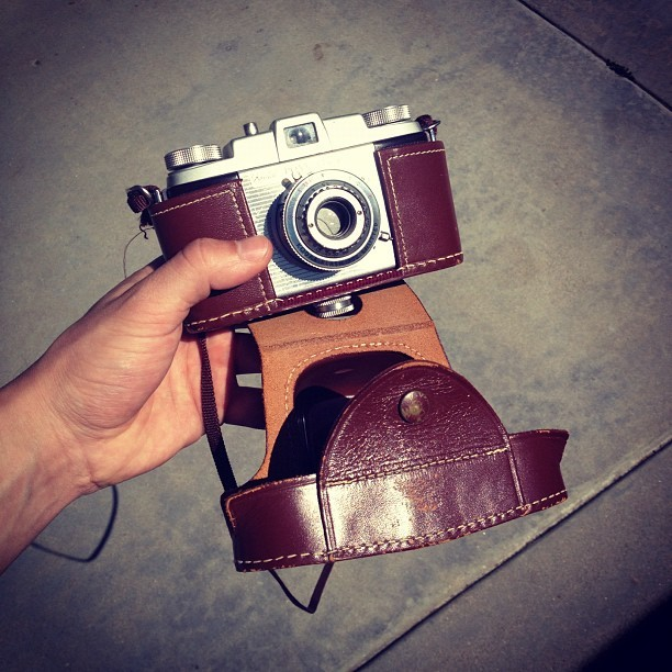 My great grandpas 1949 Kodak, these things were seriously built to last. 📷 (Taken with instagram) Follow me at BenSuarez