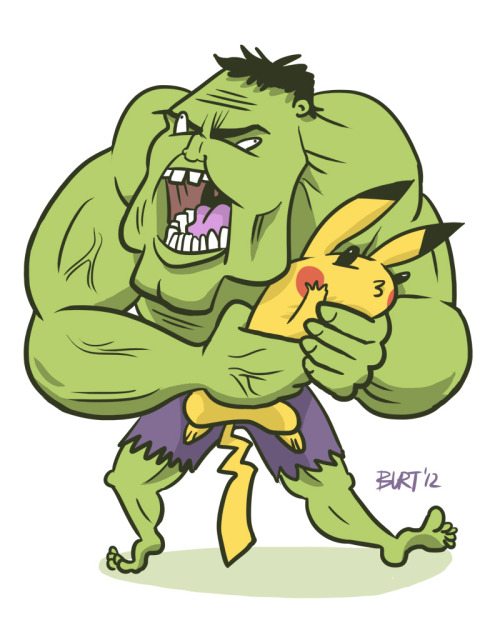 HULK SMASH BROS! Done for drawedgoods
