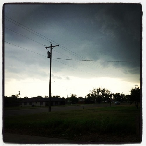 the storm is coming. #beware (Taken with instagram)