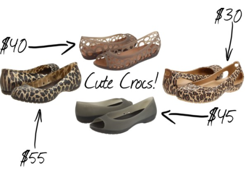 (via Lovely At Your Side: Cute Crocs!)