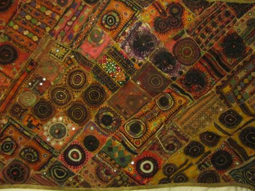 I have been lovingly repairing this rug I bought back from India for some time…..until boredom sets in. I will finish it at some point in the next 20 years.