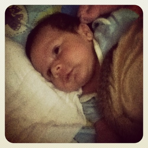 .. el nene de titi! 😍❤ (Taken with instagram)