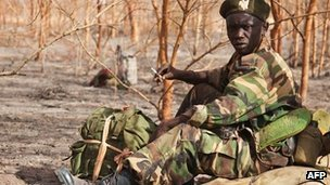 "South Sudan 'to withdraw troops' from Heglig oil field South Sudan's President Salva Kiir has ordered the withdrawal of his troops from the Heglig oil field in Sudan. But Sudan's leader Omar al-Bashir later said his forces had retaken Heglig town. South Sudanese forces captured the area last week, accusing Khartoum of using it as a base to launch attacks. UN chief Ban Ki-moon had described the occupation as illegal and also called on Sudan to stop bombing the South. Mr Bashir on Friday told supporters at a victory rally in Khartoum: ""We thank God that he made successful your sons; and the security forces and the police force and the defence forces - he has made them victorious on this Friday."" On state TV, his defence minister said Sudan's armed forces had entered Heglig 11:20 GMT. South Sudan has so far made no public comments on Khartoum's claim. Pictured: South Sudan had said it wanted UN monitors deployed before its troops left Heglig"