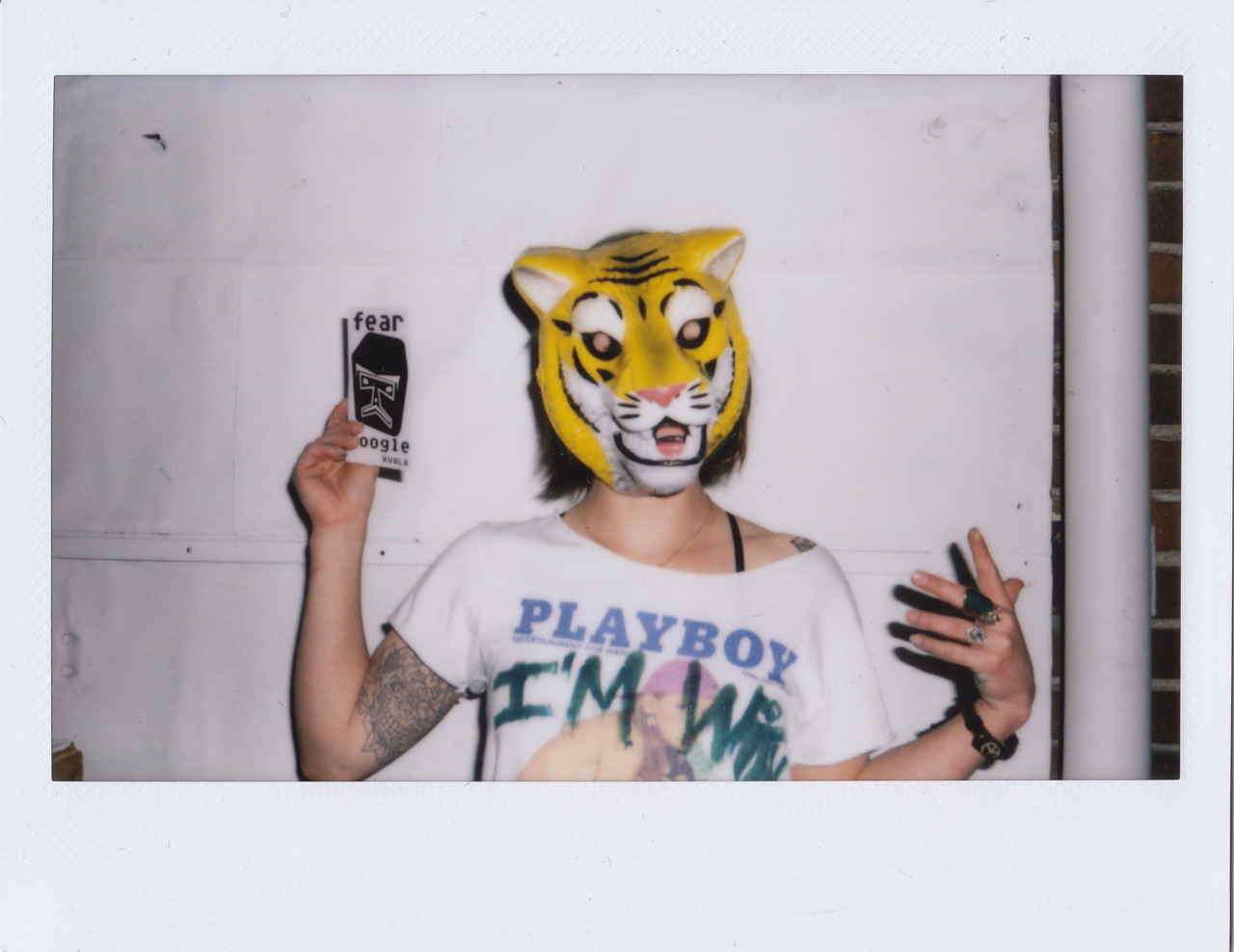 Fear Google The Tigergirl by Reserve Result and XVALA, downtown Los Angeles, March 2012.