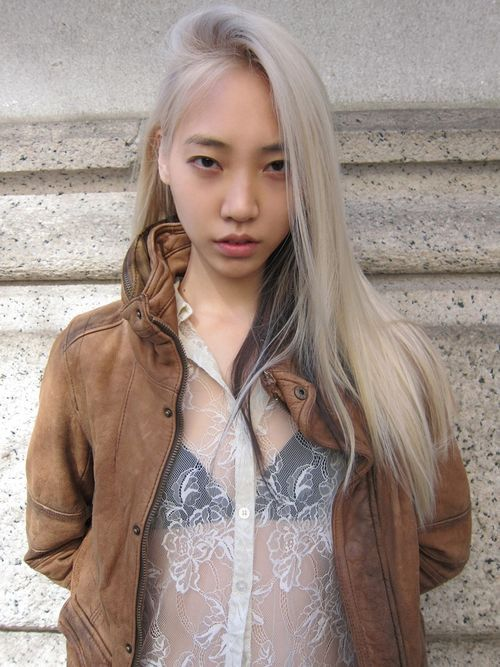 oh-austere:  Soo Joo Park (Source: Wilhelmina Models)