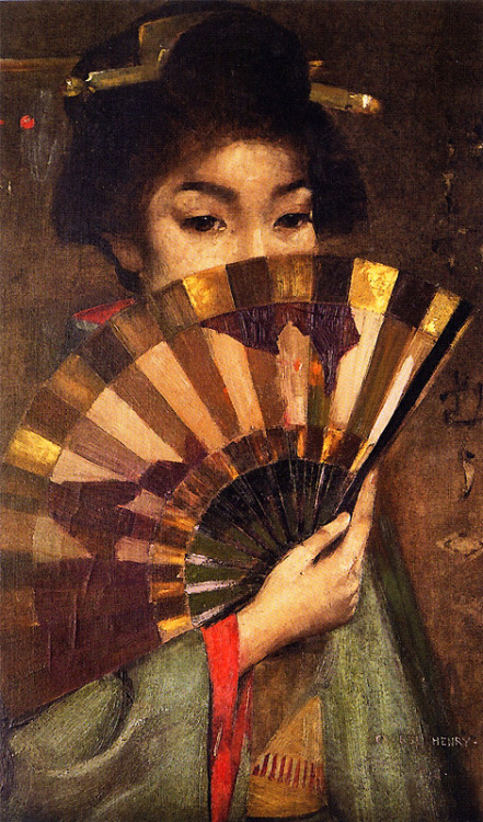 bluebaroque:  George Henry - Geisha Girl (1894)