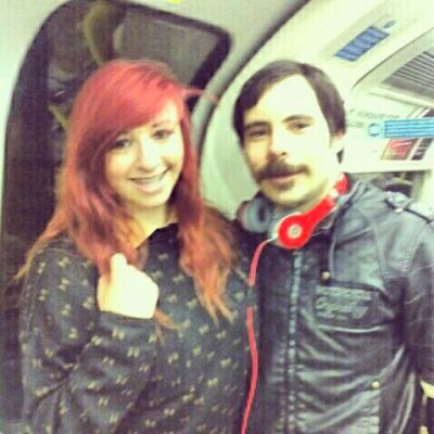 met mike on the tube… that is all  Oh you lucky duck!