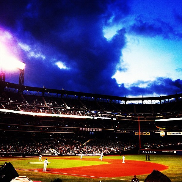 #nyc #fuckthegiants #queens #mets #citifield  (Taken with instagram)