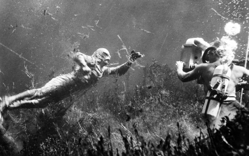 Filming Creature From The Black Lagoon (1953)