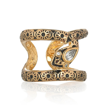 LUX 'o-nomics serpent ring