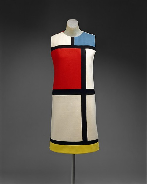 Mondrian Dress Yves Saint Laurent, 1965 The Metropolitan Museum of Art