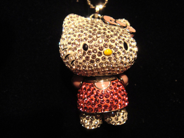 Swarovski Hello Kitty Photo via Fashion Lounge