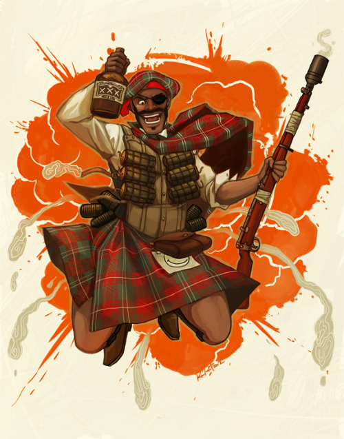 otlgaming:  TEAM FORTRESS 2 DEMOMAN: 1920s EDITION by RAMIDA-R You may also like:1920s Sniper || 1920s Scout
