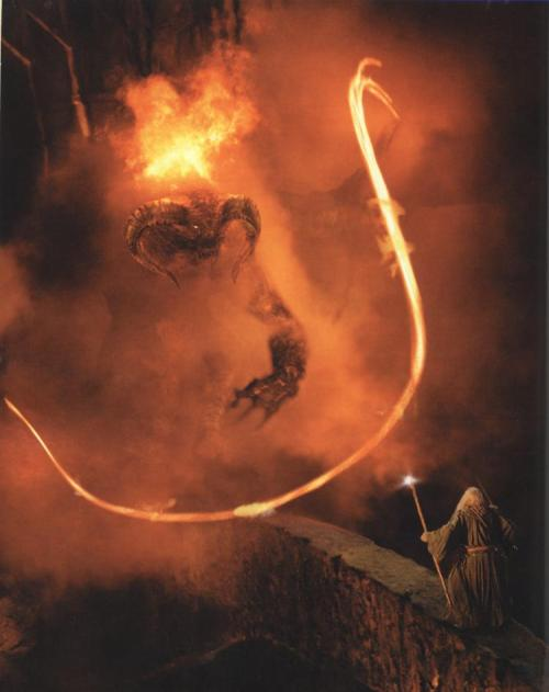 thevanyar:  The Flame of Udun, The Balrog of Moria, servant of Gothmog, Durin's Bane.