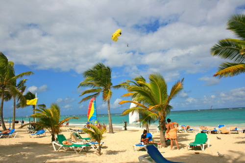 Playa de Arena Gorda, Bávaro - Dominican Republic.