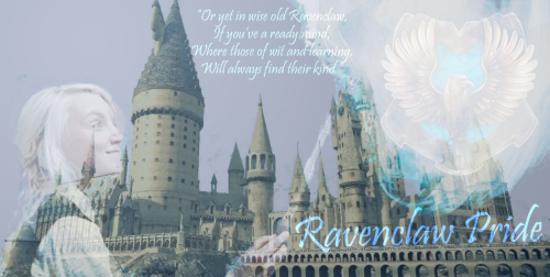 This is the header for our Ravenclaw forum! Join it today if you belong in Ravenclaw! http://ravenclaweaglepride.proboards.com