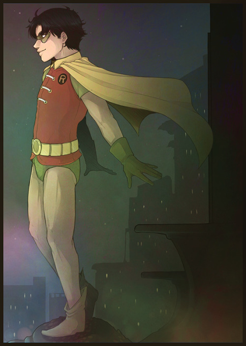 "tealgeezus:   ""Being Robin gives me magic.""  Happy Birthday to the lovely Quipquip, who's as sweet as her name is fun to say <3   Oh my GOODNESS, I can't get over how gorgeous this is! There is no Jason quite as precocious and wonderful as bb!Robin!Jason, and this one looks especially magical. Thank you so much. aaaa, he just looks like he doesn't have a care in the world. Best day of his life indeed ♥. THANK YOU!!"