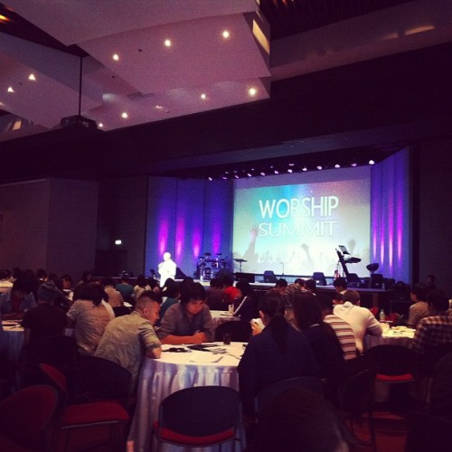 Worship Summit with Paul Barker at VCF-Fort (Taken with Instagram at Victory Church Fort Bonifacio)