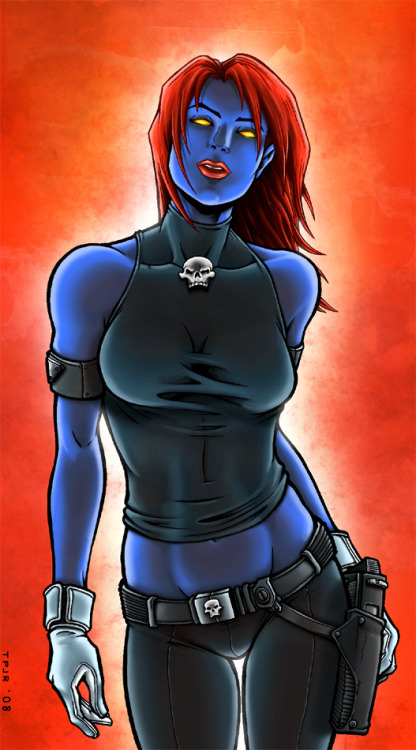 Who loves them some Mystique?!