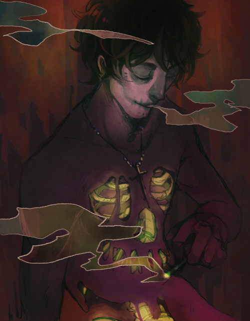 i'm lateee but happy 4/20!!! obligatory gamzee of course, but featuring mads' beautiful streetstuck gamzee, who is my fave humanstuck reincarnate ever ♡♡♡