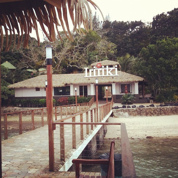 Almost a year ago. #vanuatu #iririki #beach #resort #holiday (Taken with instagram)