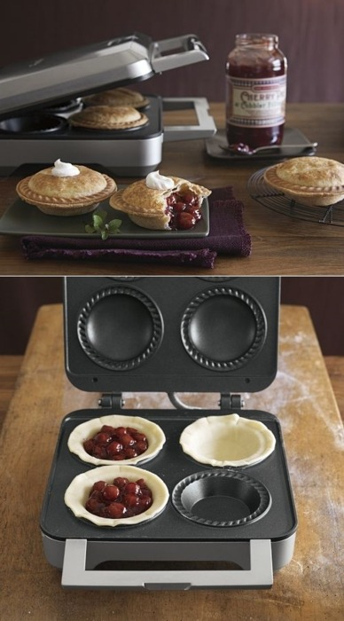 thecakebar:  Mini Pie Makers!