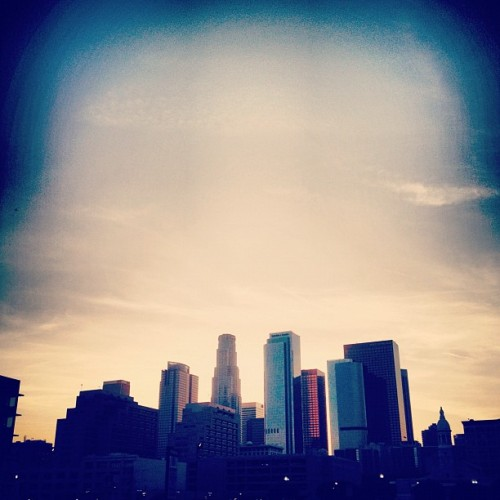 #dtla #sunset (Taken with Instagram at Little Tokyo)