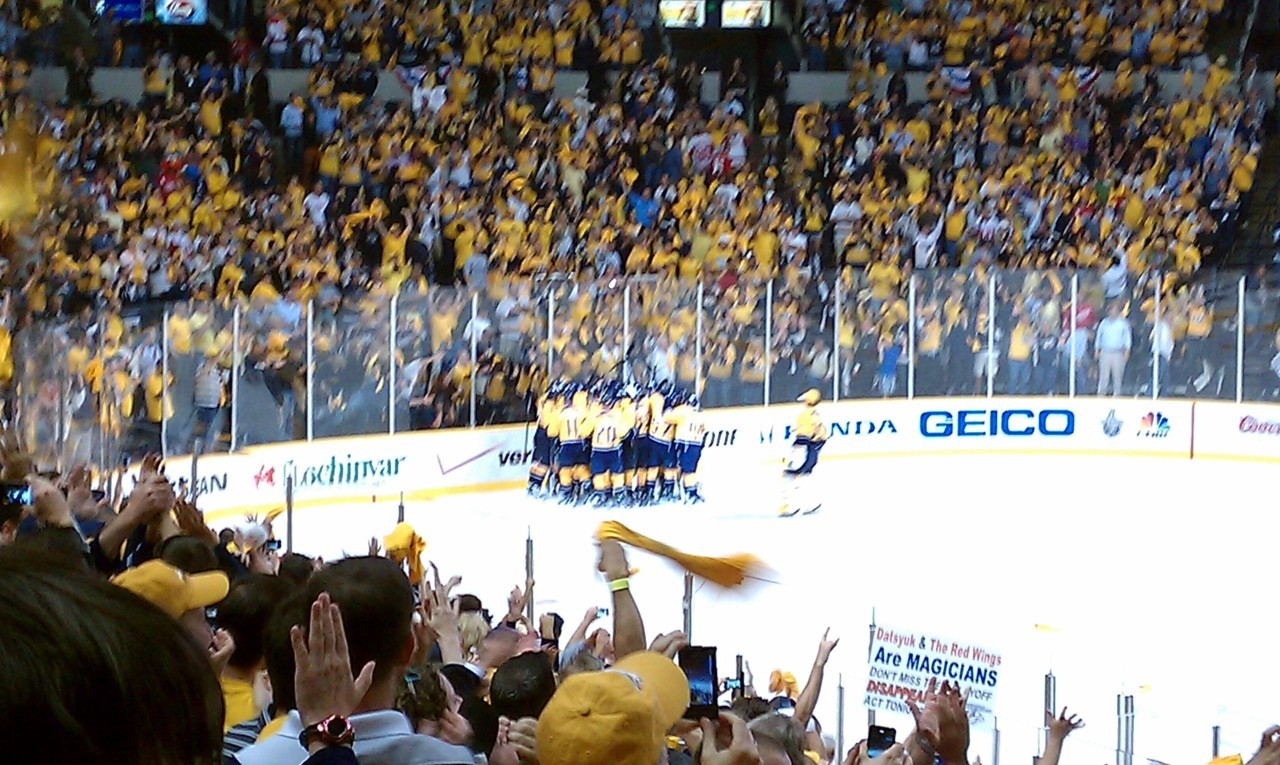 Preds win! Off to Conference Semis!
